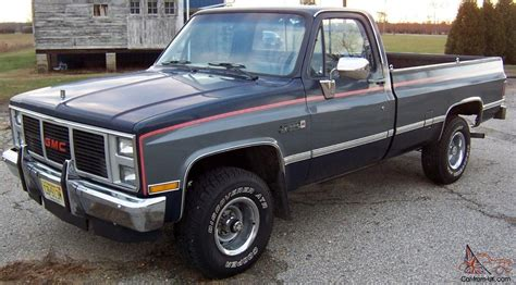 1987 Gmc Sierra Classic 4x4 For Sale