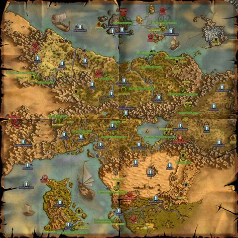 Map Ancaria Sacred 2