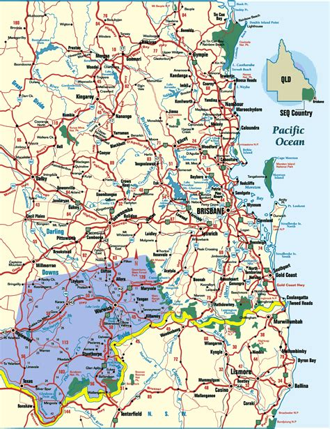 Map East Brisbane