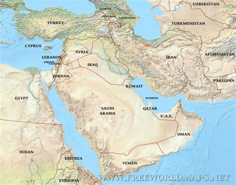 Map Games Of Middle East