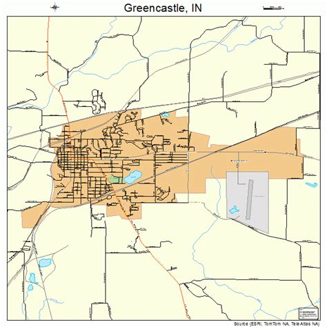 Map Greencastle