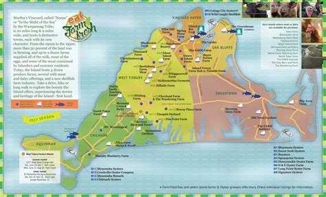 Map Martha s Vineyard