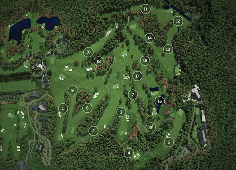 Map Of Augusta National