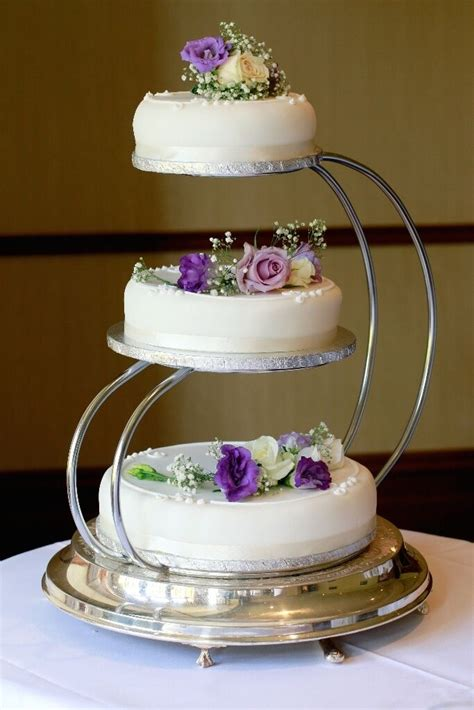 cheap 3 tier wedding cake stand
